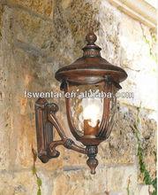 40 -100W E27 Antique Brass Garden Lights Outdoor Wall Light