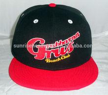 custom flat bill snapback cap