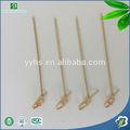 atacado de alimentos descartáveis uso natural de fruta de alta qualidade varas de bambu para churrasco espetos