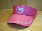 custom cotton twill visor