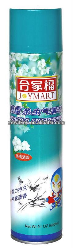 500ml Low VOC pest Aerosol Insecticide