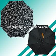 Hot sell rain full size fashion blue folding umbrella