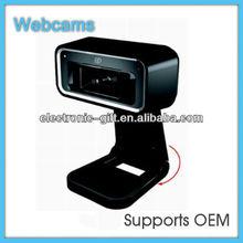 Black 5.0 MegaPixel USB 2.0 Digital Webcam with Mic