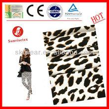 Panther Print Chiffon Fabric