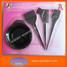Professional Hair color dye brush for hair beauty/tint bowl hair salon/hair dye combs