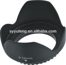 58mm Tulip Lens Hood