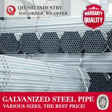 HS CODE CARBON STEEL PIPE PRE-GALVANIZED STEEL TUBE
