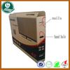 5-ply custom corrugated carton box for tv packaging box