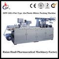 Modèle dpp-140a type plat en plastique en aluminium automatique emballeur blister