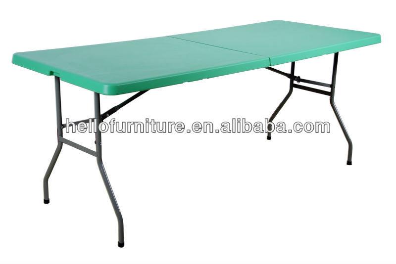 6ft plegable mesa de comedor dise a mesa mesa plegable - Bisagras para mesas plegables ...