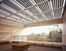 Best Transparent BIPV Solar Panel