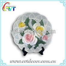 fiore piattoin ceramica