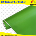 4d carbon fiber vinyl car sticker Apple Green carbon paper carbon fiber car color/Top 10 On Sales/10 colors