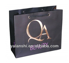 Embossing Logo Luxury Gift Paper Bags