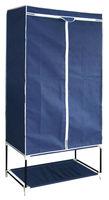 Non-woven folding portable wardrobe/almirah design /closet/cabinet/bedroom wardrobes