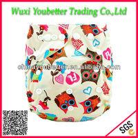 New Print PUL Reusable Cloth Diaper Baby Washable Cloth Diaper
