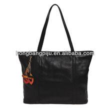 New design colorful ladies hangbags black