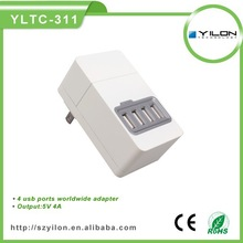 China manufacturer 2014 Newest arrive 5V 2A portable wholesale dual usb wall charger