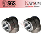 Stainless Steel 304 304L 316 316L Forged 3000lb 90D Elbow