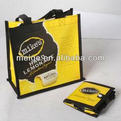 foldable shopping bag / non woven shopping bag / shopping bag
