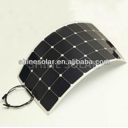 sunpower solar cells high efficiency flexible solar panel, High Quality Semi Flexible Solar Panel