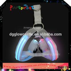 Hot sale harness!!!pet accessory manufacturer led pet products