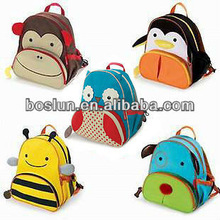 2014 latest design colourful kids school bags