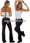 custom 86% nylon 14% spandex dry fit soft feeling womens gym clothing