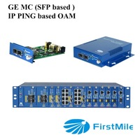 low cost high quality 100M/1000M Managed media converter