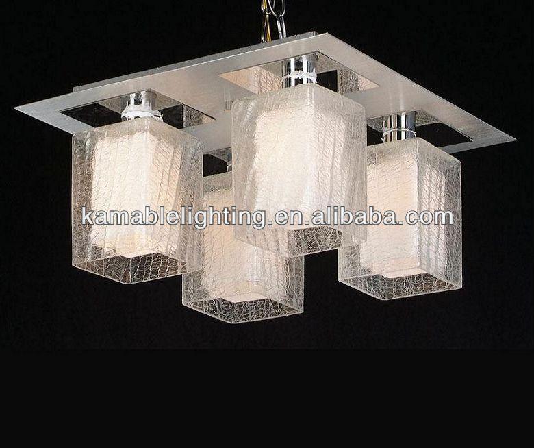 modern tavan lambası beyaz cam gölge iç ve şeffaf cam dışında