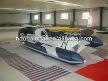 17ft 520cm 1.2mm pvc fiberglass fishing outboard speed boat