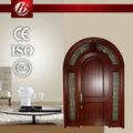 interior sólido portas de madeira interno de pvc mdf portas de madeira com porta de vidro
