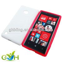 2013 hot sale TPU case for phone Nokia Lumia 720