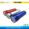 GS-8080 9 led flashlight torch pocket flash light