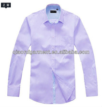 Oxford Tailored fit casual/leisure long sleeve shirt for men