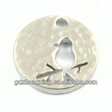 Bird brass jewelry findings bird earrings