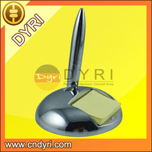 Anti-slip Metal Table Pen with Note