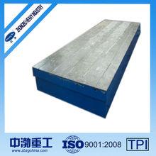 Rivet Weld gg20 cast iron surface plate