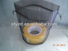 round bottom drawstring organza pouch