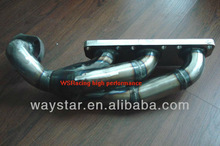 twin turbo exhaust manifold for Audi S4 RS4 exhaust manifold