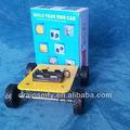 auto montaje de bricolaje educación robot kit de coche