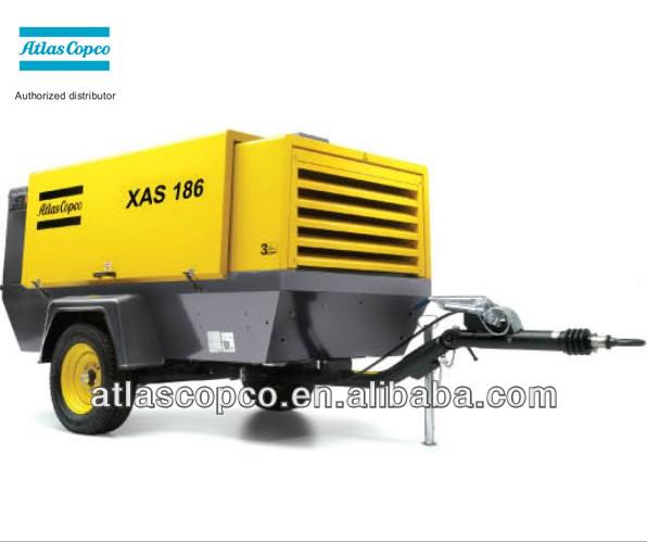 2014 venda quente atlas copco compressor portátil xas186( xas375) 11