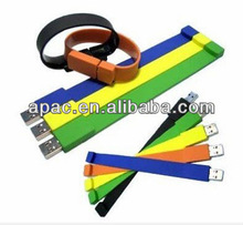 waterproof silicone 32gb usb flash bracelet cheap usb flash drive bracelets