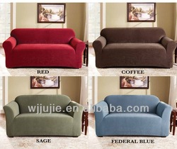 Flexible Washable suede stretch sofa cover