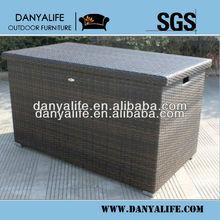 DYST-D1018,Wicker Rattan Storage Box, Garden Patio Storage Box
