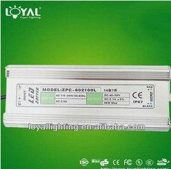 98W 40V 45V 50V 2.1A led power waterproof 67 power supply LED driver for lighting power supply driver led