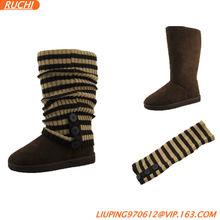 2013 Fashion Woman Boot Sock Snow Boot Shoe Footwear sock