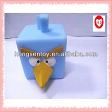 3D rubber animal brid toy/ vinyl toy/customized toy