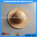 Mini-atacado chapéus mini chapéu de palha chapéu mini para bonecas