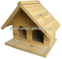 Exterior de madera palomar / palomar / de madera de keychain del Birdhouse